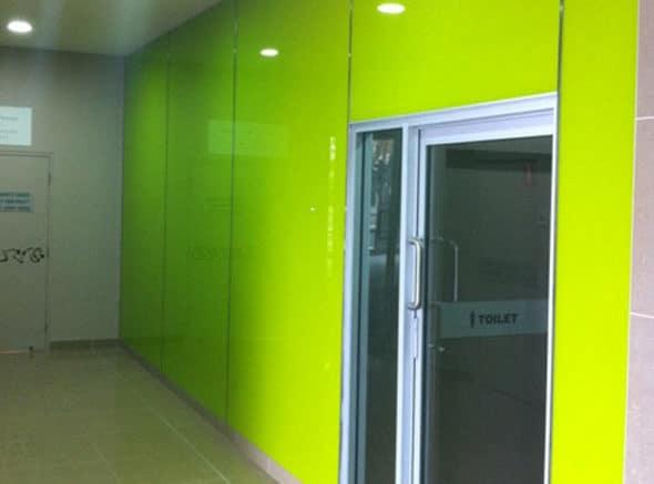 Glass Lift Lobby