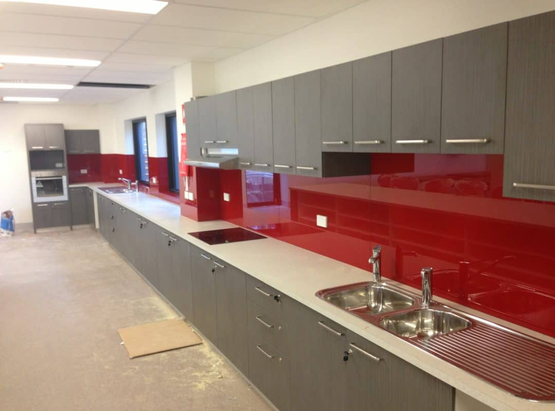 Commercial Glass Splashbacks